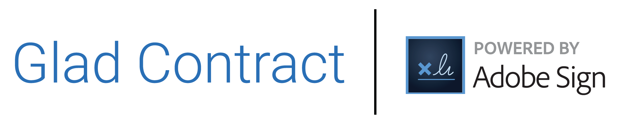 gladCONTRACT | POWERED BY - Adobe Document Cloud